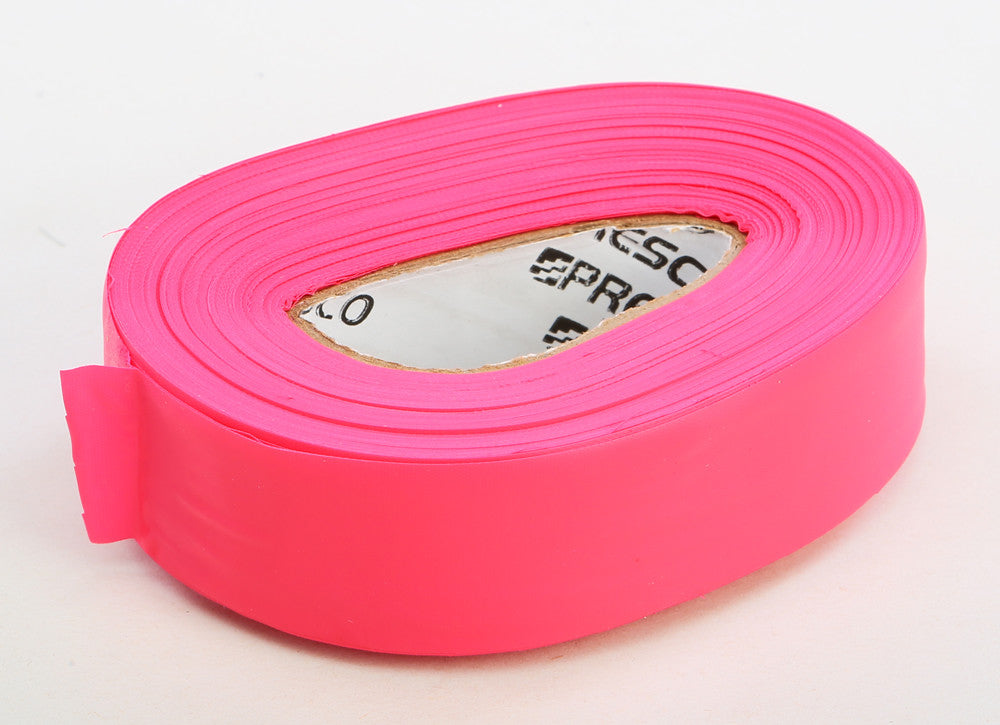 "TRAIL MARKING TAPE .75""X100' (FLO RED) Helix Racing Products 940-3162"