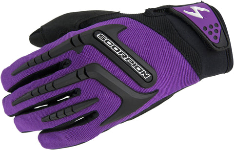 Scorpion Women's Skrub Gloves Off Road Short cuff Ventilated Synthetic Palm
