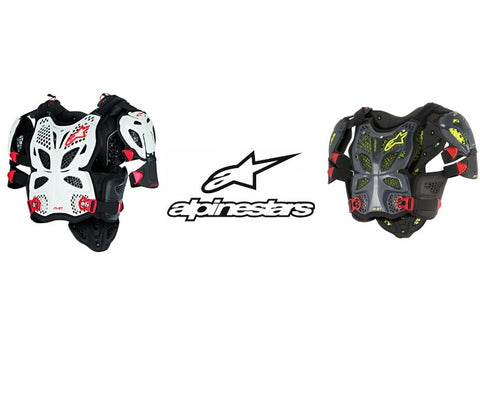 Alpinestars A-10 Full Chest Protector Sport Riding Motorcycle multi Colors Sizes