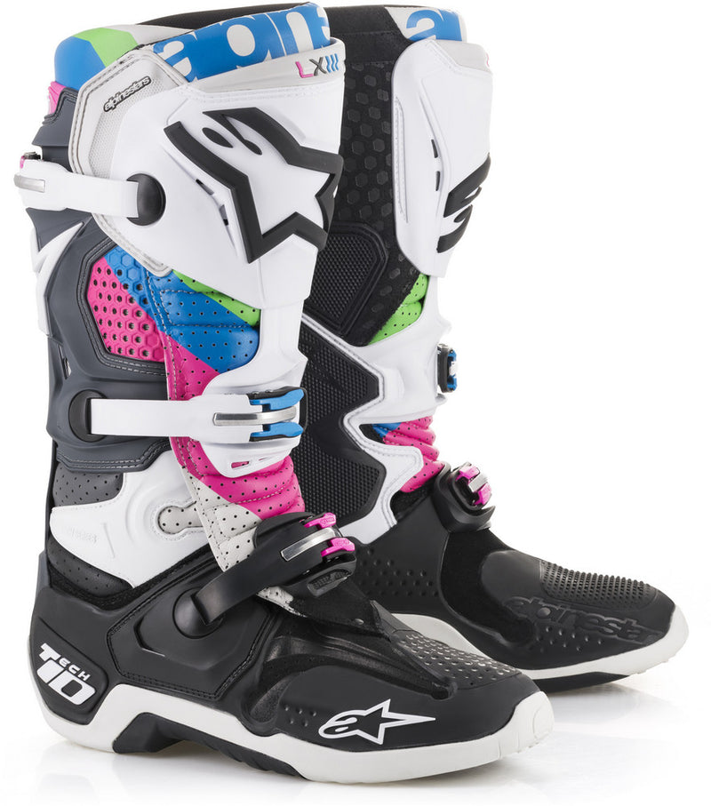Alpinestars Alpinestars Tech 10 Boots Sports Riding Motorcycle Touring Black & Colors Sizes