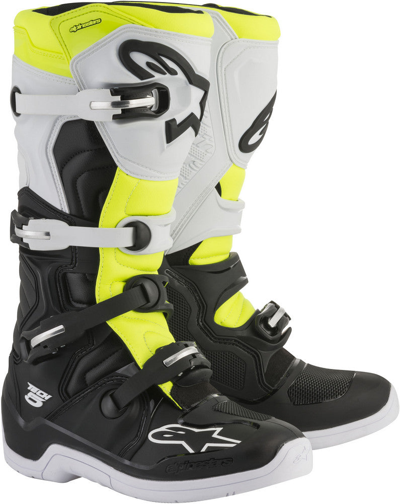 Alpinestars Tech 5 Boots Motorcycle Sports Riding Touring Black Multi colors
