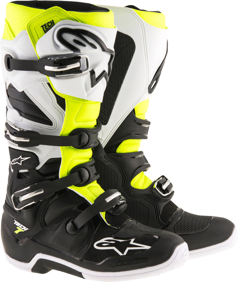 Alpinestars Tech 7 Boots Motorcycle Riding Sports Black & Multi colors Sizes