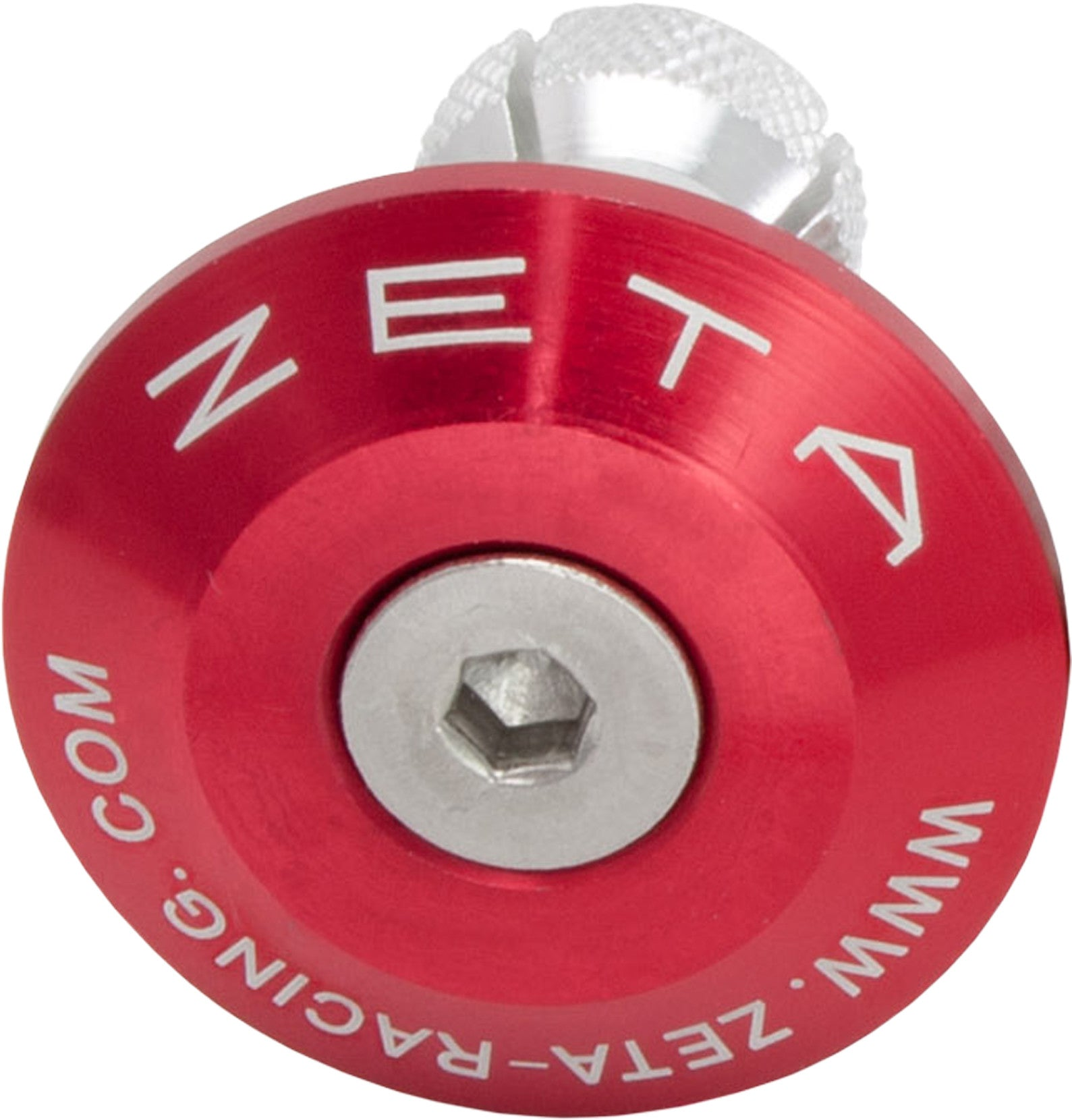 Bar End Plug Red Zeta High Performance Products ZE48-7106