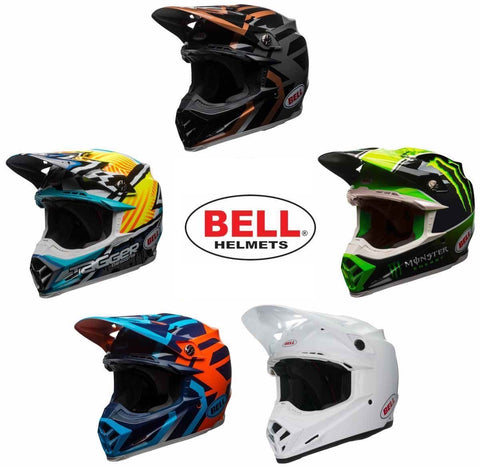 Bell Moto-9 MIPS Off Road Dirt Motorcycle Helmet Multi Colors and Sizes