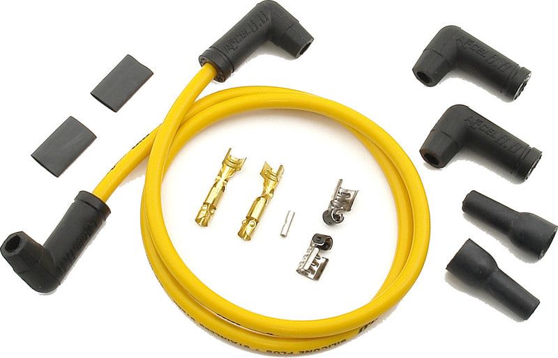 2 Plug Wire Set 8.8Mm Yellow  Accel 170085