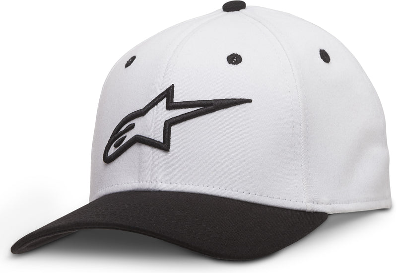 Curve Hat White/Black Lg/Xl Large Alpinestars 1017-81010-2010-L/X