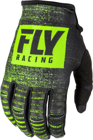 Fly Mx Kinetic Noiz Gloves Black/Hi-Vis Sz 08 372-51008