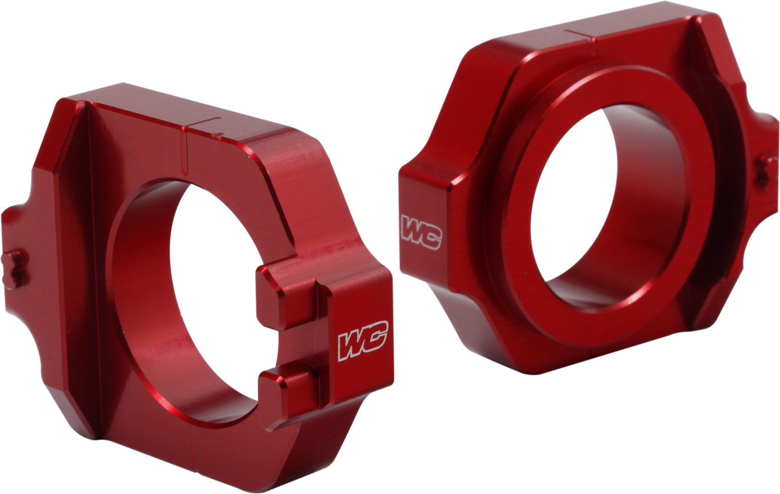 AXLE BLOCKS ELITE HON RED Works Connection 17-205