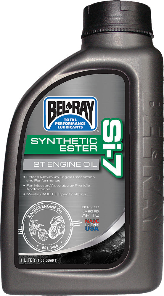 Si-7 Full Synthetic 2T Engine Oil 1L  Bel-Ray 99440-B1lw