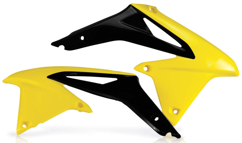 RADIATOR SHROUDS YELLOW/BLACK Acerbis 2113865137