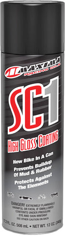 High Gloss Sc1 Clear Coat Sili Cone Spray 12Oz Maxima Racing Oils 78920