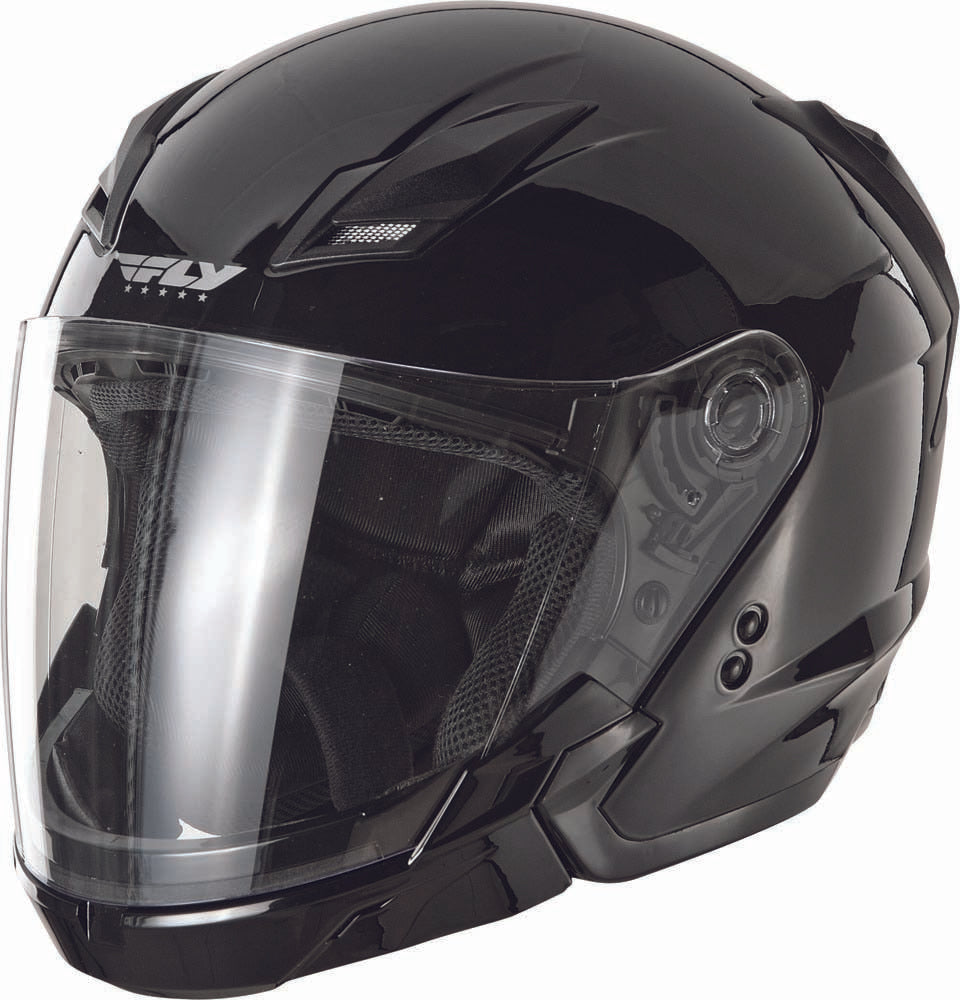Tourist Solid Helmet Gloss Black 2X F73-8100~6