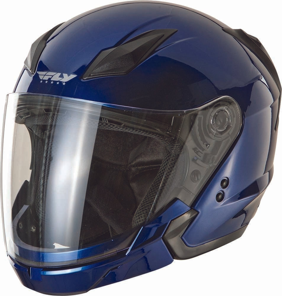 Tourist Solid Helmet Blue 2X F73-8103~6