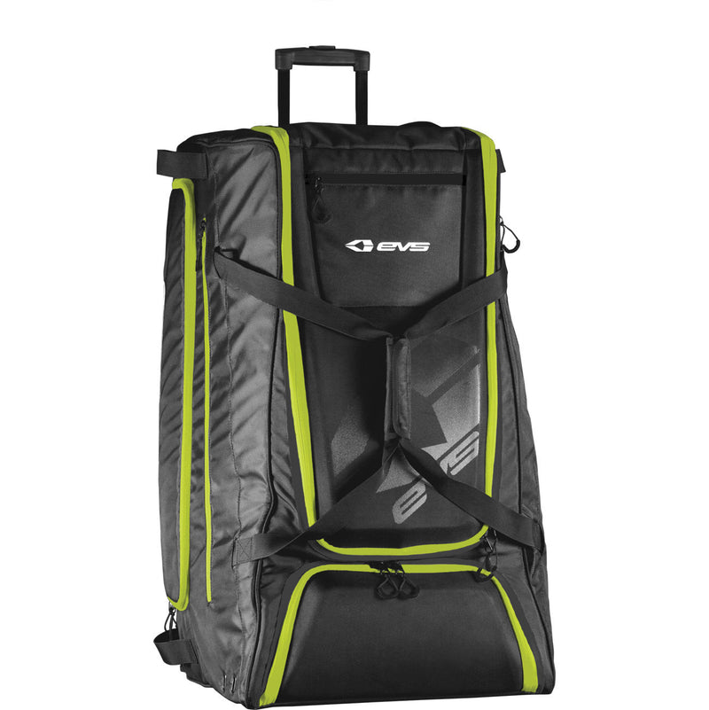FREIGHTER ROLLING BAG Fold Out with Wheels Nylon Shell Black Color One Size FREIGHTER
