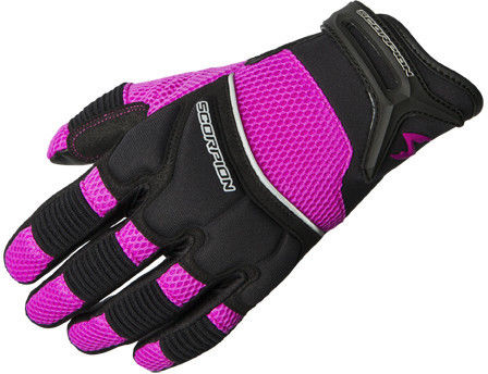 Scorpion Women's CoolHand II Gloves Short Cuff Leather Palm Ventilated Gloves