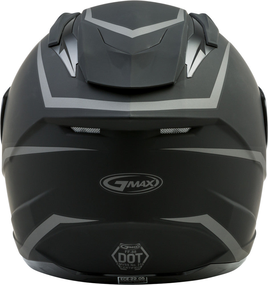 GMAX FF88 Full Face Motorcycle Helmet Solid Colors and Graphics - Sizes