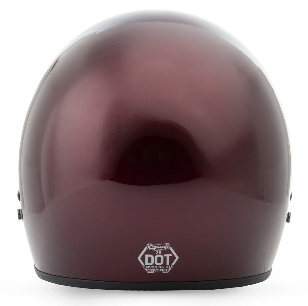 GMAX GM-2 3/4 Cruiser Motorcycle Helmet Solid Colors Adult And Youth - Sizes