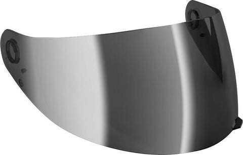 Gmax GM-64 HELMET SHIELD SINGLE LENS SILVER IRIDIUM