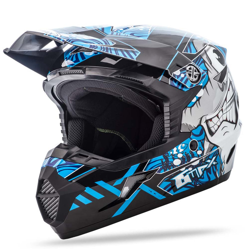 Gmax Gmax Mx-46 Youth Full Face Motorcycle Helmet Off Road Dirt Bike Hooper & Colfax