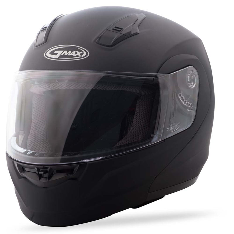 Gmax Md-04 Modular Motorcycle Helmet Black White Hi Vis Silver colors Sizes
