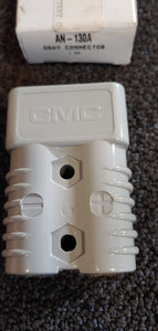 CMC AN-130A Gray Power Connector 1/0 Lugs (175A-600V)