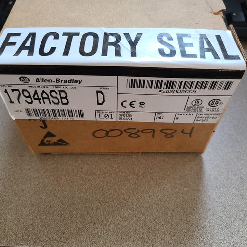 Allen Bradley 1794-ASB Series D Flex Adapter Module Factory Sealed
