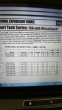Wessels TXA 200, 53 Gal ASME, 150 PSI Thermal Expansion Tank
