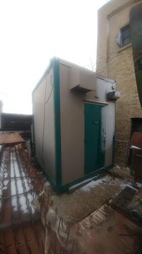 10' x 8' Pumping Station Insulated Module. Includes Allen Bradley 2100 main electrical entrance and distribution
