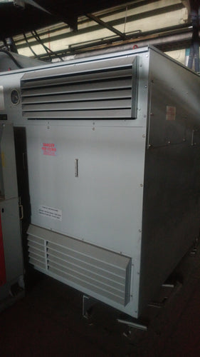 Hammond Transformer 1250 KVA HV 4160V to LV 600Y/346V, P/N 154845