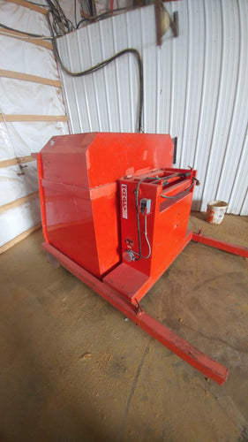 Mahaffy 1000 Lb Hydraulic Dumping Station