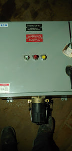 Eaton 200 HP PTO with ground fault detection system, PTO6-AC-CB-IEC, 600 Volts