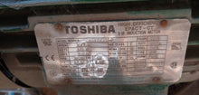 Toshiba 10 HP Electric Motor, 575v, 3495 RPM, FR 215T