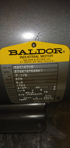Baldor 7.5 HP Electric Motor, 575V, 1760 RPM , FR: 213T New In Box!