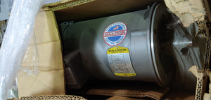 Baldor 5 HP Electric Motor, 575V, 1725 RPM , FR: 184TC, New In Box!