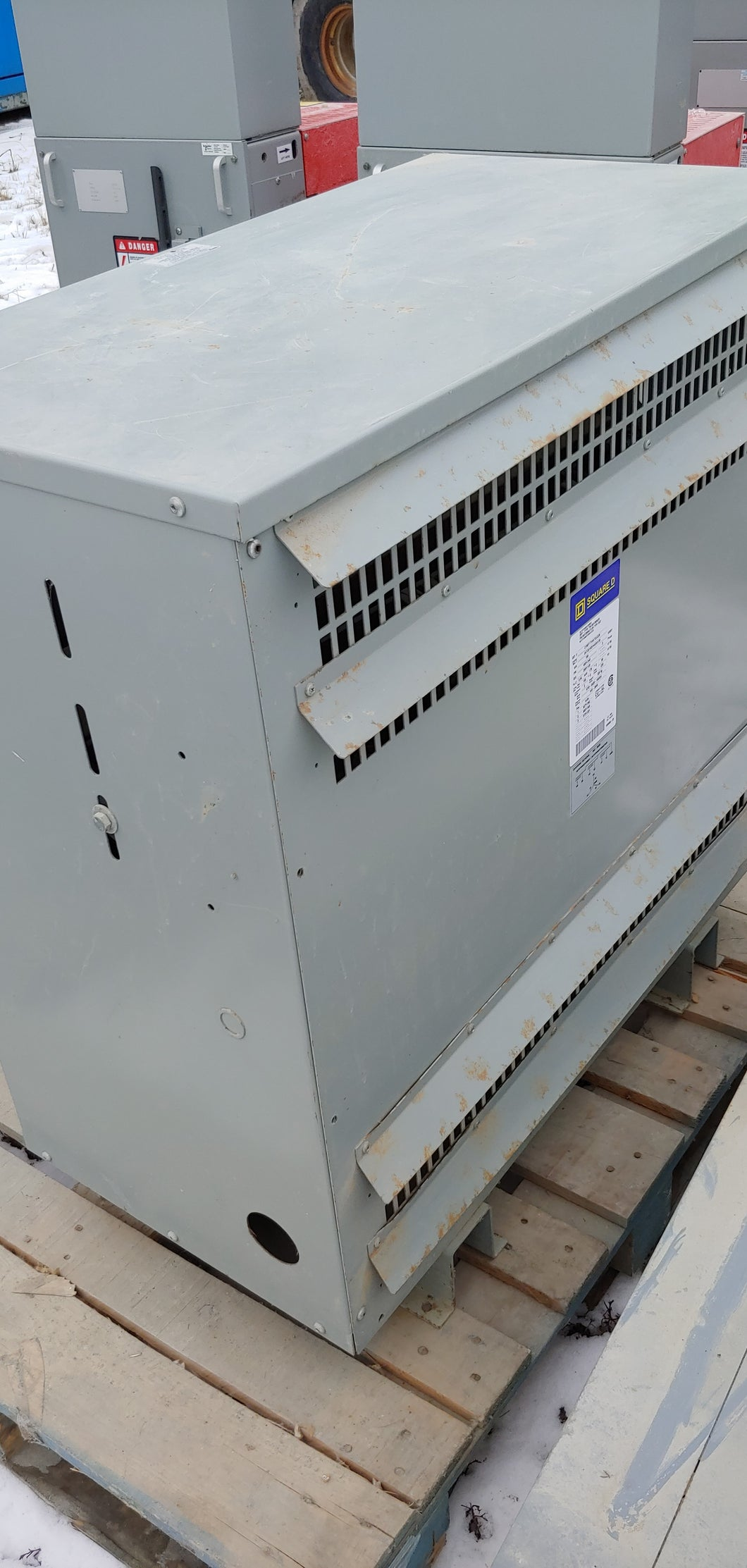 Square D Transformer 150 KVA Autotransformer 600Y/346 to 208Y/120 Volts, C150T171HATCUC2X