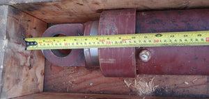 "Heavy Duty Hydraulic Cylinder 5.5"" bore x 5"" Dia Rod approx. 14 ft Long, Single Acting"