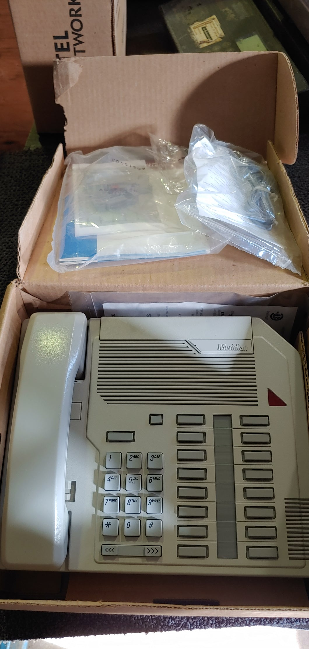 Nortel Networks NT9K16AA93 Office Telephone