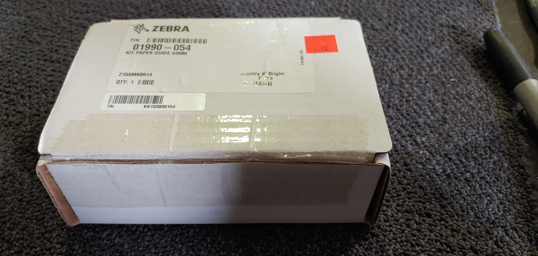 Zebra 01990-054 Paper guide kit 54mm