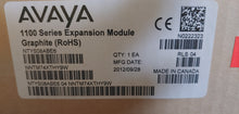 Avaya 1100 Series Expansion Module Graphite