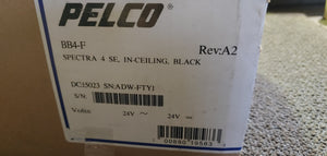 Pelco BB4-F Spectra In Ceiling Housing Black