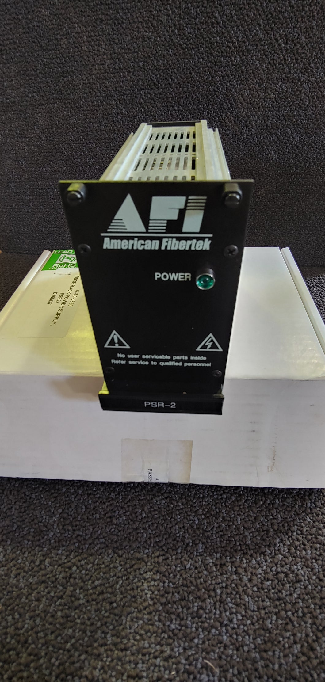 American Fibertek PSR-2 Switching 100w DC Power Supply