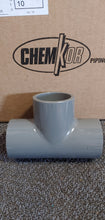 "ChemKor 801015 PVC Socket Tee 1-1/2"" Each"