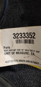 "10"" Butterfly valve Seat replacement 88-351-0-017 BUNA J85101"