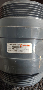 "PVC Stubbe ProfiDos 101 Dosing Valve1-1/2""  (Comes as seen in Pictures)"