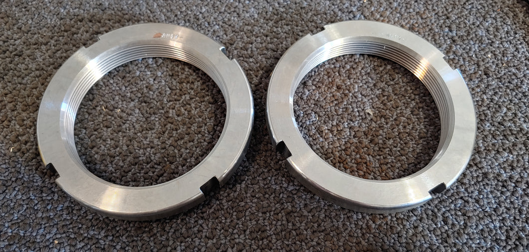 Lot of 2  AN17 Bearing Locknuts