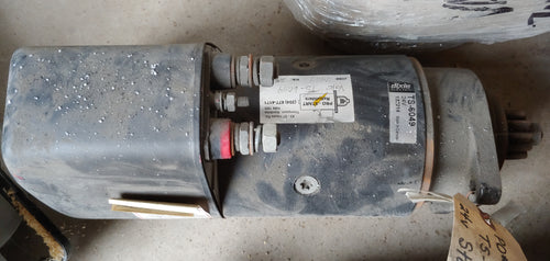 Dixie TS-6049 Starter, 24V with solenoid, refurbished never installed