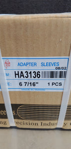 CS Adapter Sleeve HA3136 Size 6-7/16""
