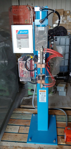 TAYLOR WINFIELD NV-1 SPOT WELDER WITH UNITROL SOLUTION DIGITAL CONTROL, 20 KVA, 575V, 8
