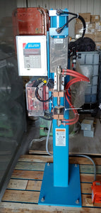 "TAYLOR WINFIELD NV-1 SPOT WELDER WITH UNITROL SOLUTION DIGITAL CONTROL, 20 KVA, 575V, 8"" THROAT, 6"" GAP with FOOT PEDAL, New Never Used!!"