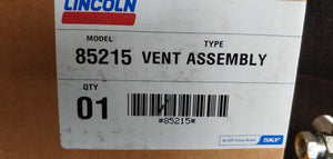 Lincoln 85215 Vent Assembly